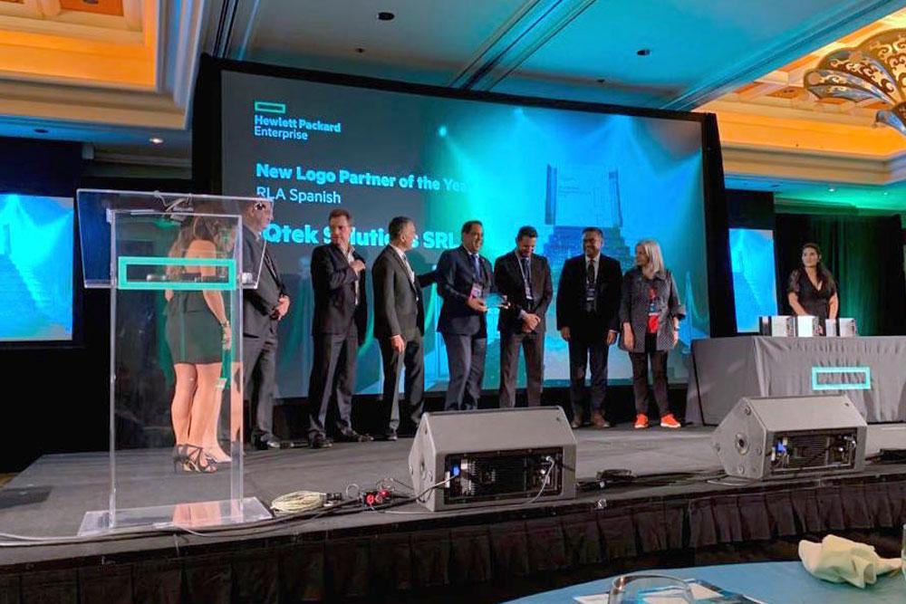 IQtek receives HPE RLA Performance Partner Recognition Award FY18
