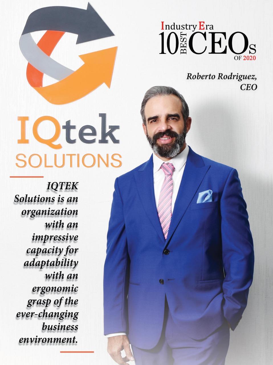 """Roberto Rodríguez  fue seleccionado como uno de los """"10 mejores directores ejecutivos de 2020"""""""